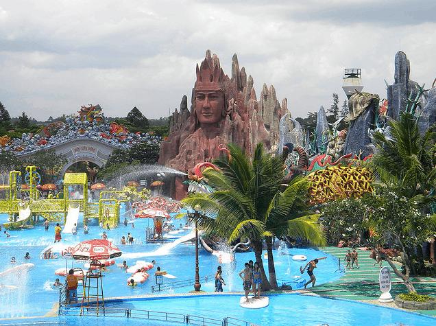 Suối Tiên - sân chơi thiên nhiên hiện đại