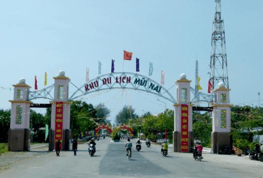 Khu du lịch Mũi Nai Hà Tiên