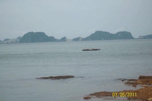 Xóm biển Nam Phố địa hình bãi biển thoai thoải