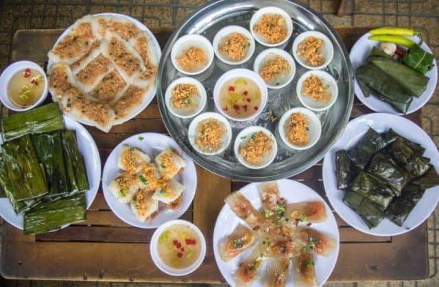 Các loại bánh thơm ngon của Đà Nẵng (Ảnh ST)