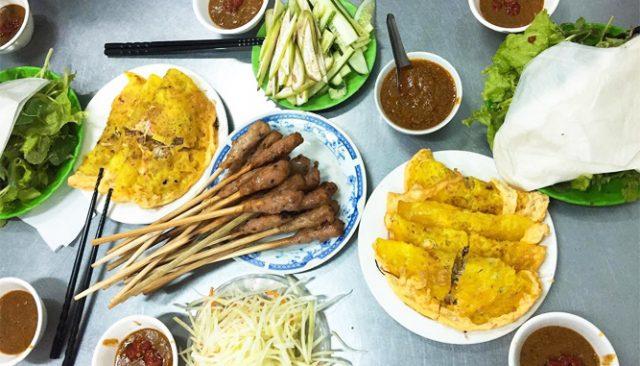 Bánh Xèo Nem Nụi nổi tiếng ở Đà Nẵng (Ảnh ST)