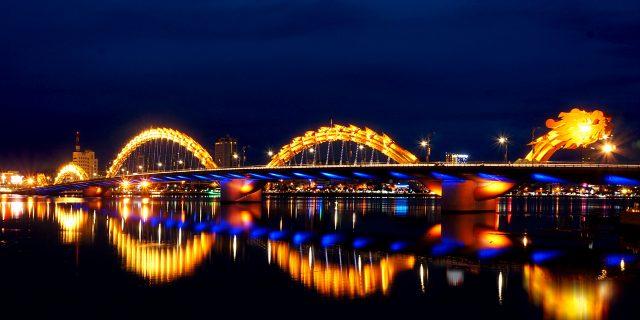Cầu Rồng ở Đà Nẵng (Ảnh ST)
