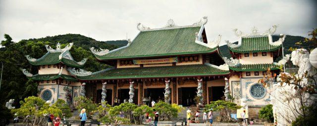Khu Chánh điện chùa Linh Ứng (Ảnh ST)