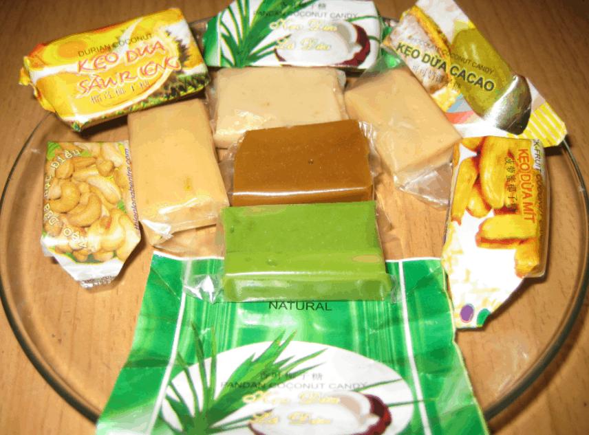 Đặc sản kẹo dừa