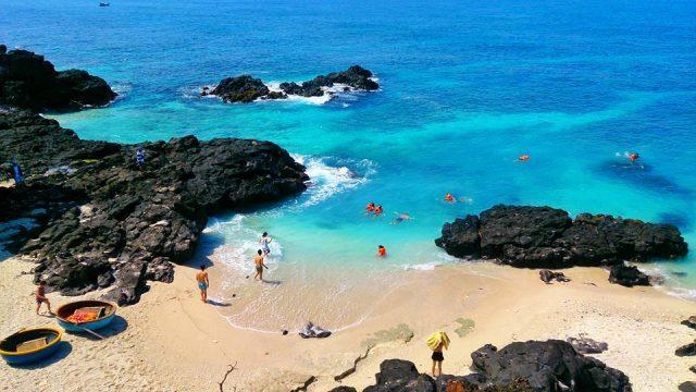 Khung cảnh tươi đẹp ở Đảo Bé (Ảnh ST)