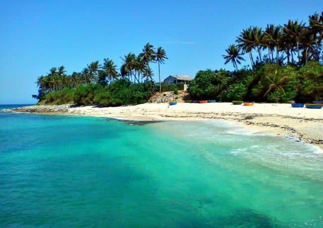 Hòn đảo xinh đẹp của huyện đảo Lý Sơn (Ảnh ST)