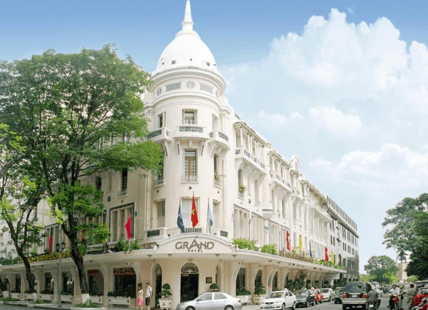Hình ảnh khách sạn Grand Hotel Saigon hiện nay
