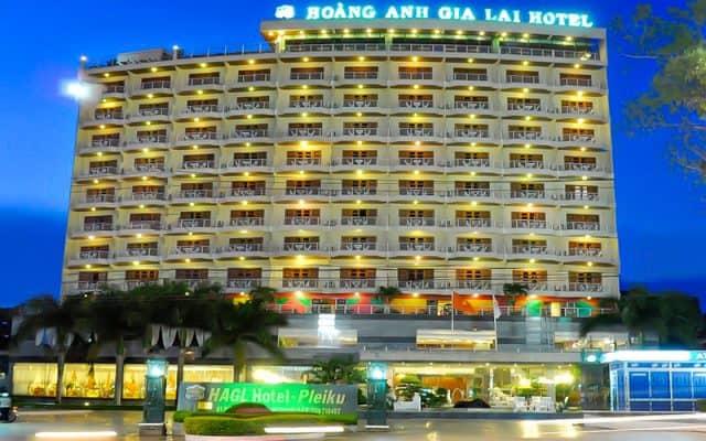 Tọa lạc ngay trung tâm thành phố là khách sạn duy nhất đạt chuẩn 4 sao tại Gia Lai (Ảnh ST)