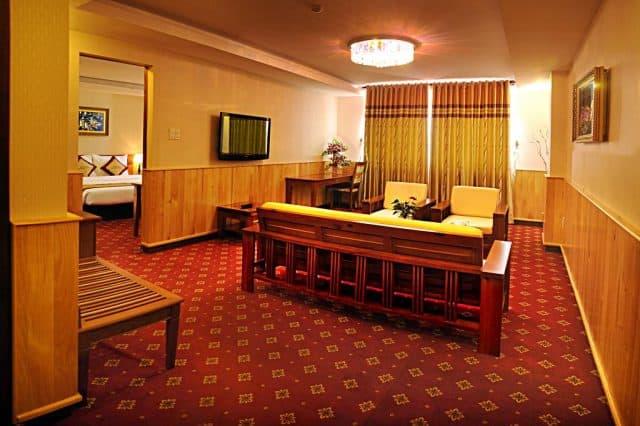 Mỗi phòng nghỉ tại đây đều có Wi-Fi miễn phí và TV truyền hình vệ tinh màn hình phẳng (Ảnh ST)