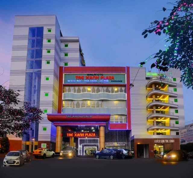 Khách sạn Tre Xanh gồm 120 phòng đạt tiêu chuẩn 3 sao cùng với các hệ thống dịch vụ đẳng cấp (Ảnh ST)