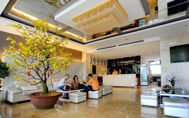 Sảnh khách sạn Dendro Nha Trang (Ảnh ST)