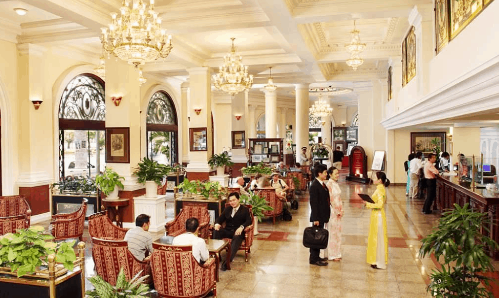 Khách sạn Majestic có lịch sử lâu đời tại Sài Gòn