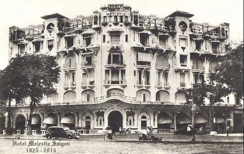Hình ảnh khách sạn Majestic những ngày đầu thành lập