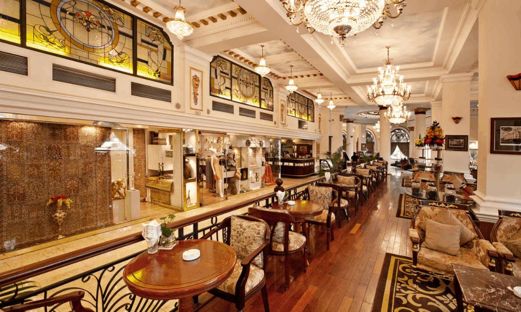 không gian giải trí tai khách sạn Majestic