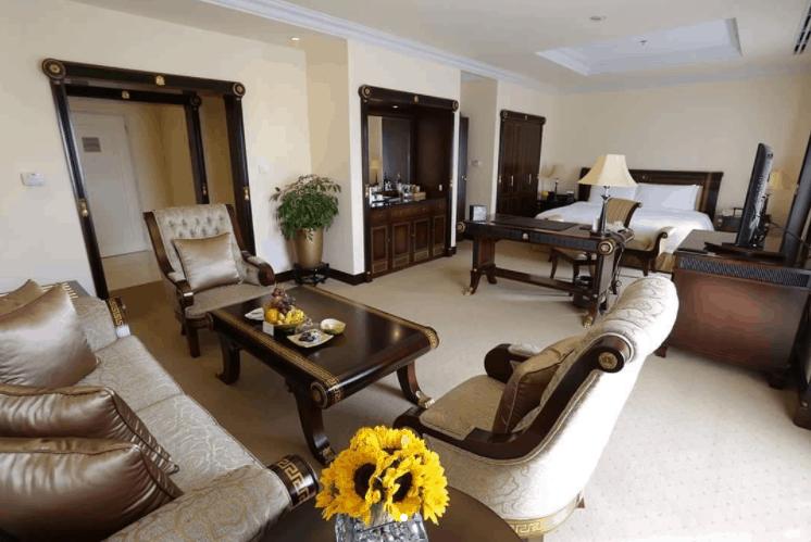 Không gian phòng nghỉ khách sạn Lotte Legend SaiGon