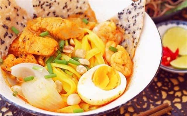 Mì Quảng món ăn hấp dẫn tại Đà Nẵng (Ảnh ST)
