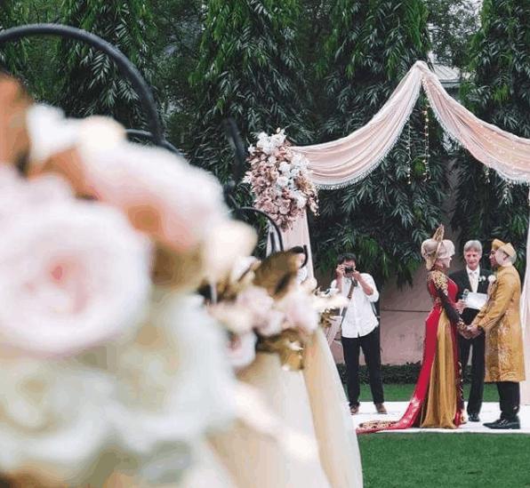 Một bữa tiệc cưới lãng mạng tại lotte Legend Hotel Saigon