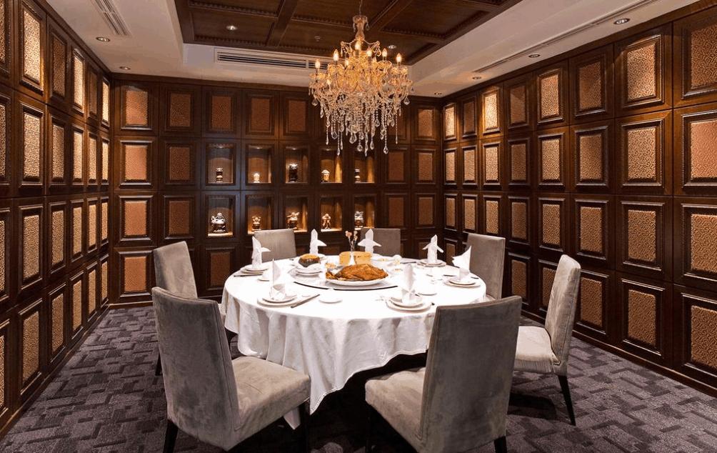 Phòng ăn cao cấp dành cho gia đình