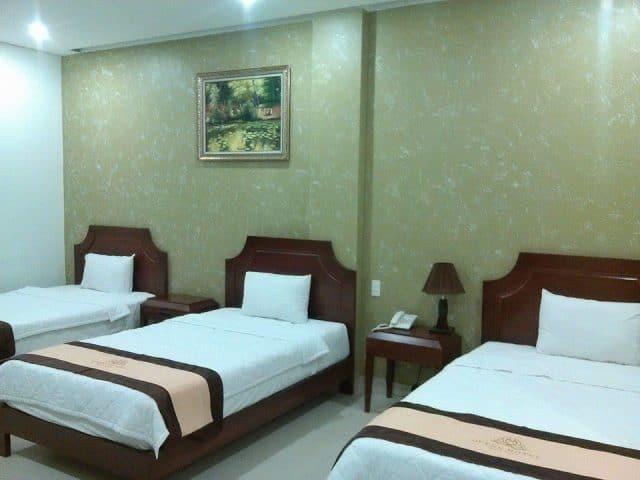 Phòng ngủ dành cho gia đình, nhóm bạn bè (Ảnh ST)