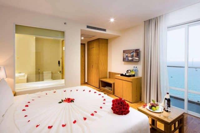 Khách sạn Rosaka Nha Trang, nơi nghĩ dưỡng tiện nghi và thân thiện, biểu tượng sang trọng mới của thành phố biển Nha Trang (Ảnh ST)