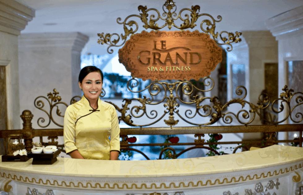 Tận hưởng những giâu phút thư giãn tại Le Grand Spa