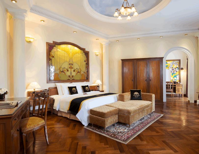 Tận hưởng những phút giây thư giãn tại khách sạn Majestic