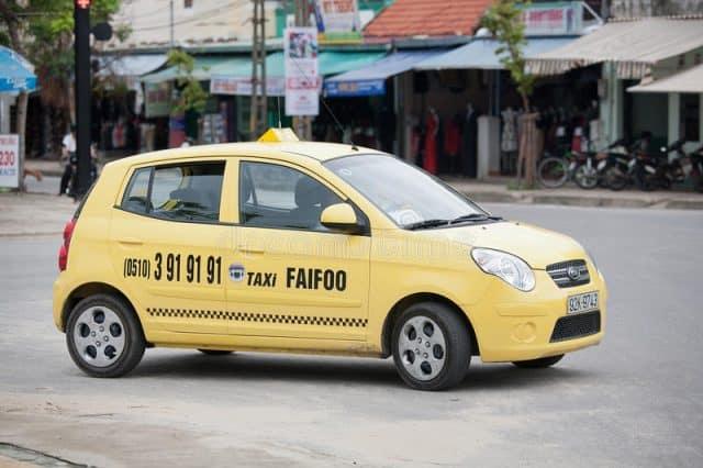 Hãng Taxi Faifoo Hội An (Ảnh ST)