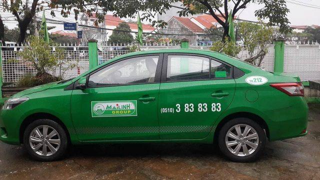 Taxi Mai Linh Tam Kỳ Quảng Nam (Ảnh ST)