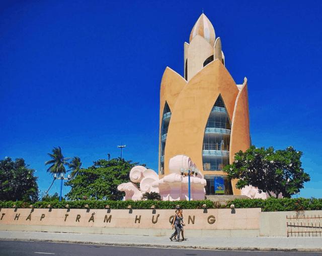 Tháp Trầm Hương biểu tượng của Nha Trang (Ảnh ST)