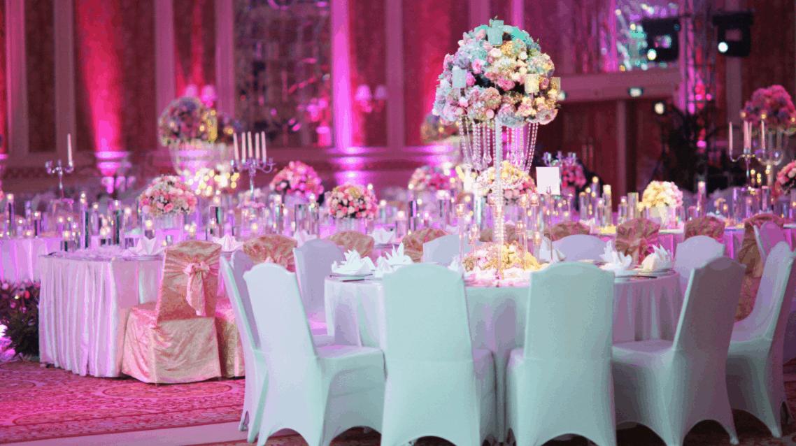 Tổ chức tiệc cưới lãng mạng tại Sheraton Saigon