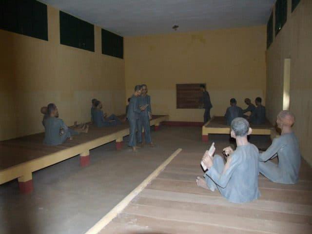 Phòng giam là nơi nuôi dưỡng ý chí cách mạng của những người tù Cộng sản (Ảnh ST)