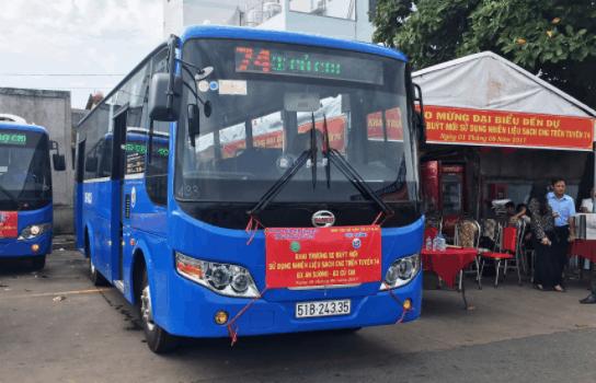 Xe bus 74 tới bến Củ Chi
