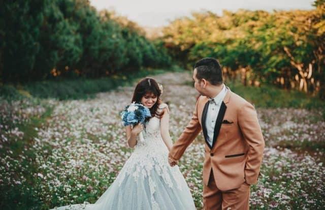 Những bộ ảnh cưới độc đáo cũng được chụp tại đây (Ảnh ST)
