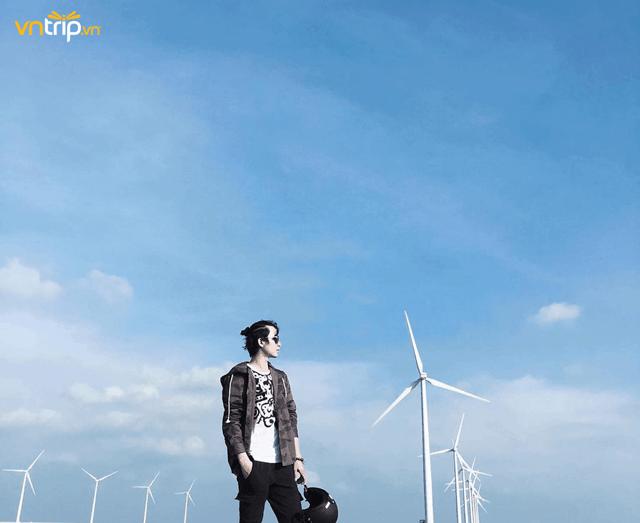 cánh đồng quạt gió bạc liêu