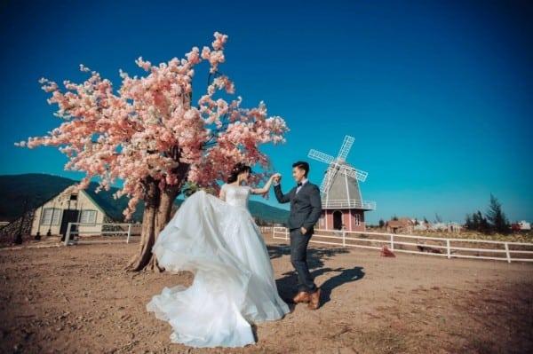 Nhiều cặp đôi chọn đây làm địa điểm chụp ảnh cưới tuyệt đẹp. (Ảnh: ST)