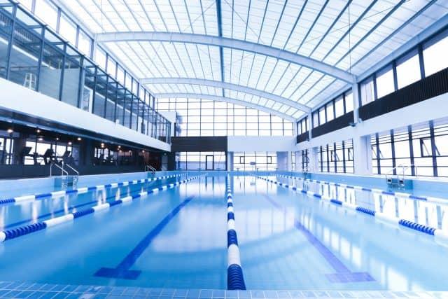 Bể bơi Level Fitness cực sang và chuyên nghiệp