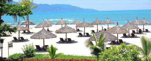 Bãi biển du lịch nổi tiếng ở Đà Nẵng (Ảnh ST)