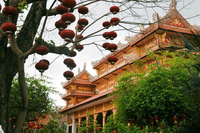 Chùa Nam Sơn điểm đến du lịch hấp dẫn của Đà Nẵng (Ảnh ST)