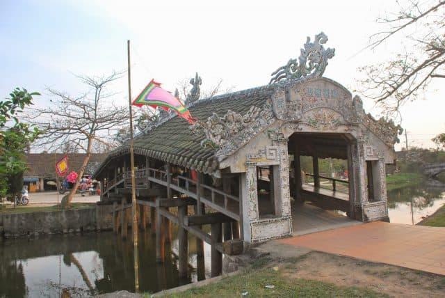 Tổng thể cây cầu như một ngôi nhà với 7 gian phòng (Ảnh ST)