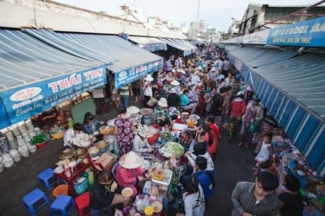 Chợ Cồn nổi tiếng ở Đà Nẵng (Ảnh: ST)