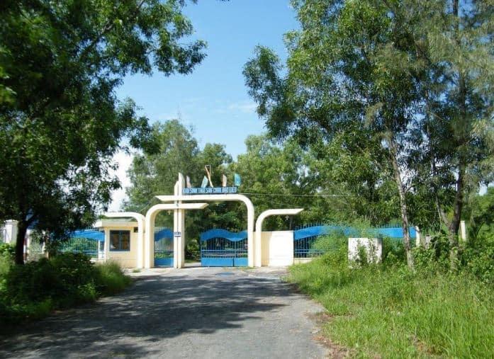 cổng chào vườn chim Bạc Liêu