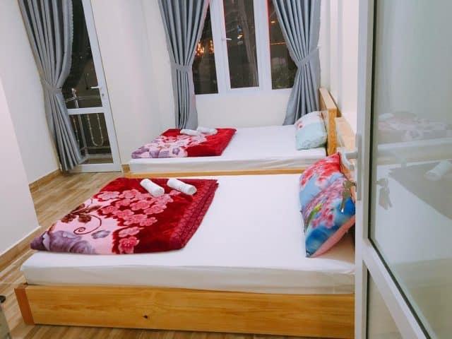 Phòng nghỉ tại Diep Hostel (Ảnh ST)