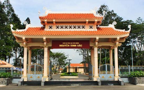 khu du tích cụ Phó bảng Nguyễn Sinh Sắc
