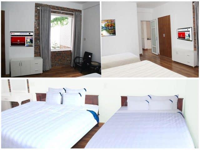 Không gian nghỉ ngơi tại Loan Kim homestay (Ảnh: ST)