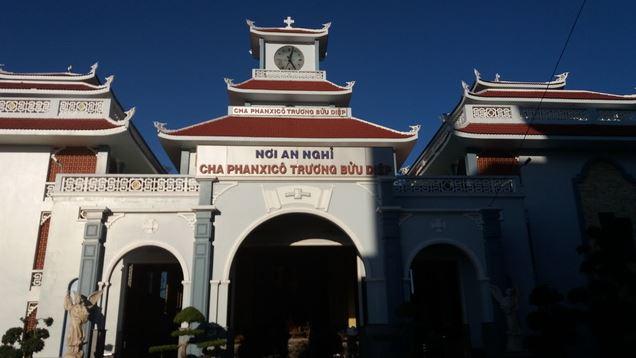 mộ Cha Trương Bửu Diệp