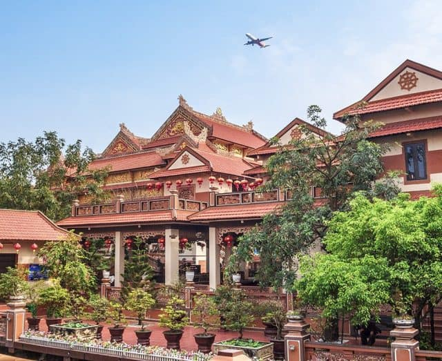 Ngôi chùa sở hữu kiến trúc vô cùng độc đáo (Ảnh ST)