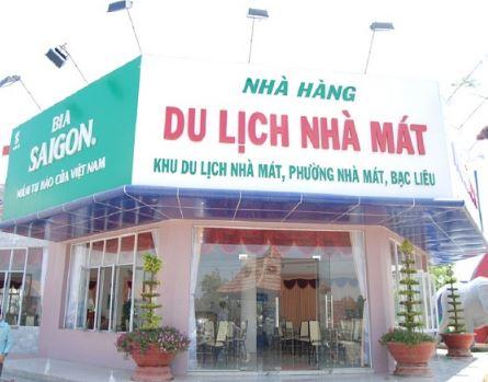 nhà hàng du lịch Nhà Mát