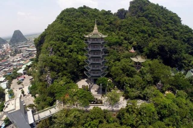 Núi Ngũ Hành Sơn tại Đà Nẵng (Ảnh ST)