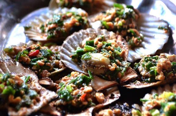hải sản Hòn Đá Bạc