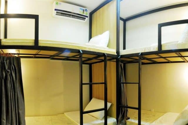 Không gian thiết kế mới lạ của TinTin Hostel (Ảnh: ST)